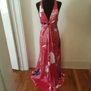Perfect vacation maxi dress Hawaiian size 6